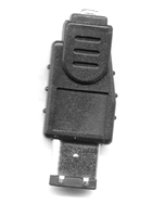 FireWire 6-pin Male to 4-pin Female Cable Adapter